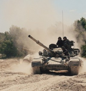 tank driving Kiev, tank driving Ukraine
