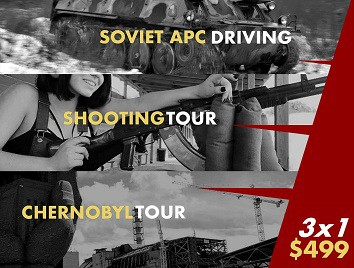 Tank Driving, Shooting, Chernobyl Tour